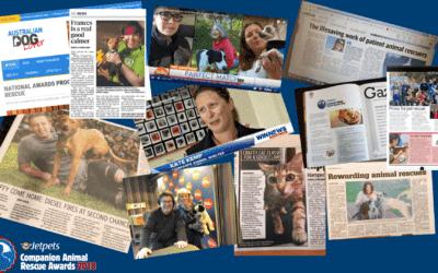 Jetpets Companion Animal Rescue Awards 2018 Report